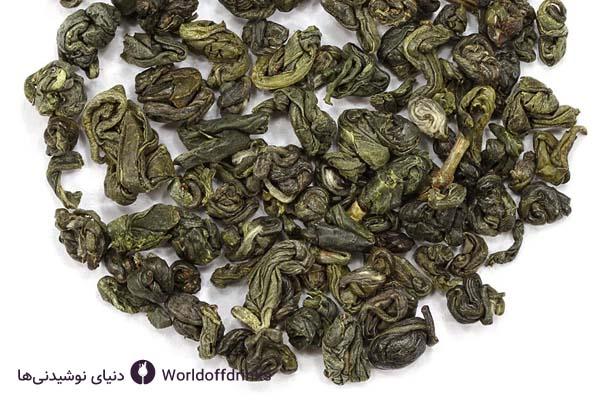 دنیای نوشیدنی ها - انواع چای برای مهمانی - چای سبز باروتی
